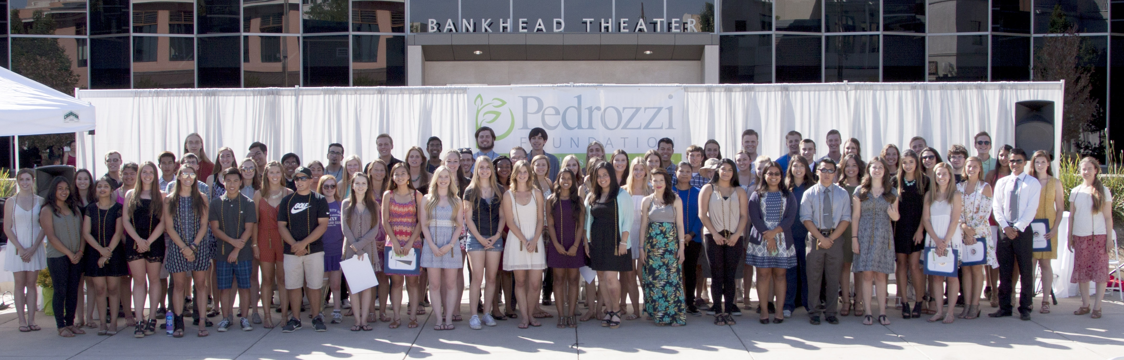 Pedrozzi Scholars 2016 Recognition Event