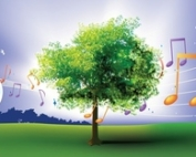 music in the orchard logo