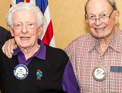 Rotary Club Honors Leo Croce, John Shirley, Funds Scholarships
