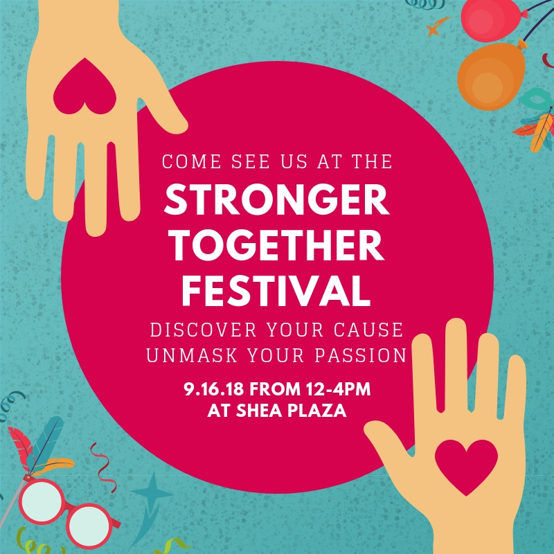 Join the Pedrozzi Foundation at the TVNPA Stronger Together Festival