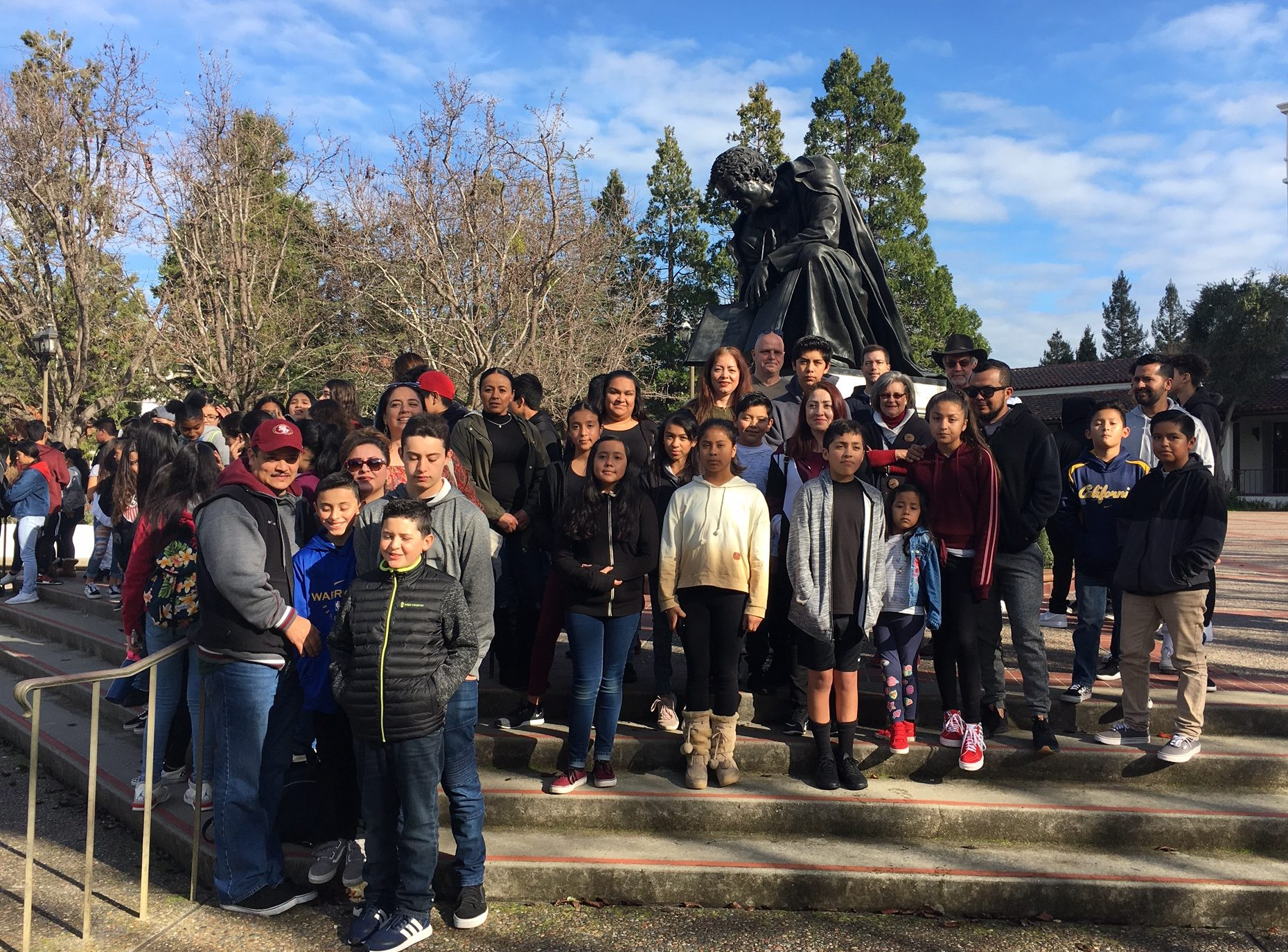 Pedrozzi Young Scholars – St. Mary's College of California Tour