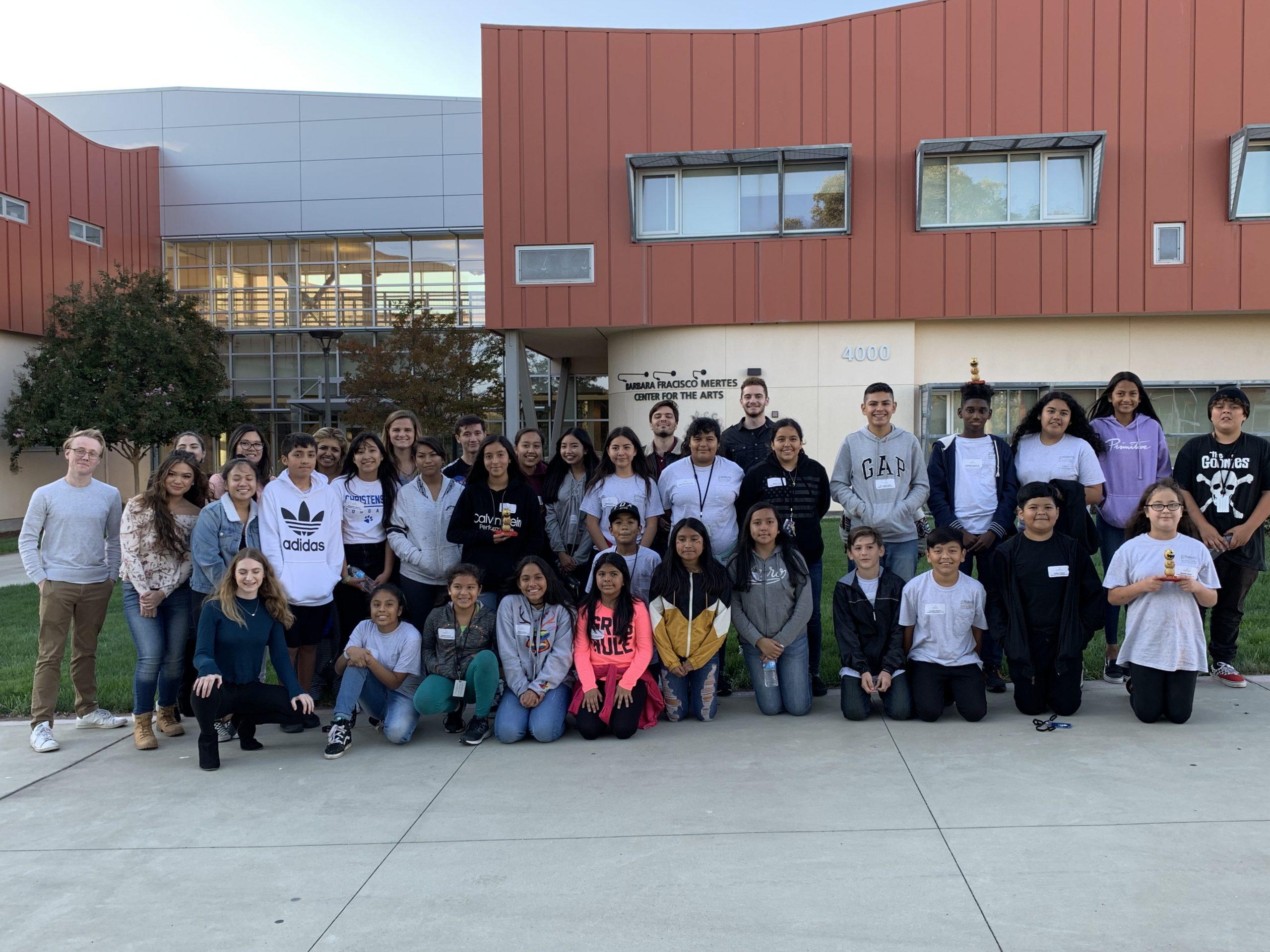 Pedrozzi Young Scholars – Las Positas College Talk Hawks Visit