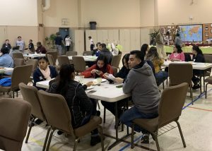 Scholars and Families at the 2020 Potluck